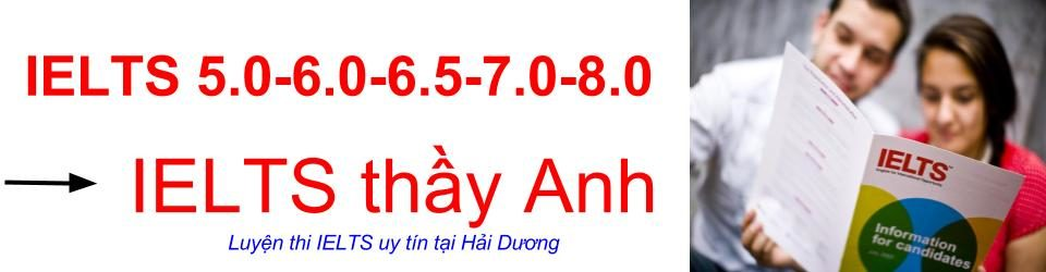 IELTS Thầy Anh